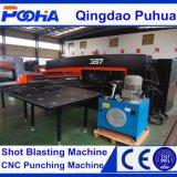 Punzonadora del CNC del sacador de agujero de la placa de la hoja