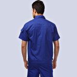 カスタムロゴの不足分の袖の均一仕事着の洗剤作業ユニフォーム