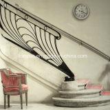 Railing лестницы размера Cutomized высоты 36 дюймов для приватной виллы