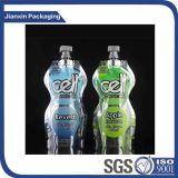 Kundenspezifische Plastikflasche mit Firmenzeichen-Behälter