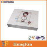 Rectángulo de regalo del papel de embalaje de la cartulina para el regalo
