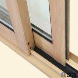 Окно термально профиля пролома алюминиевого сползая, алюминиевое окно, алюминиевое окно, окно K01034
