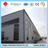 Almacén ligero galvanizado de la estructura de acero de la INMERSIÓN caliente