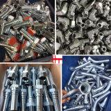 Encaixe de mangueira hidráulico de Bsp da maquinaria chinesa do CNC do fabricante (10511)