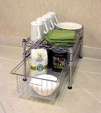 Шкаф полки провода кухни металла крома DIY миниый (LD452045C2C)