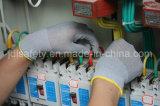 Le gant en nylon gris de travail avec l'unité centrale a enduit (PN8118)