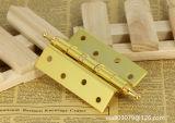 Bisagras de puerta, bisagras de cobre amarillo, bisagras del acero inoxidable, bisagras de puerta de madera, Al-G1001