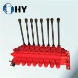 Seguridad hidráulica de la válvula de descarga del control manual de la válvula del cartucho de 8 carretes