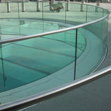 Glace Tempered du balcon 12mm