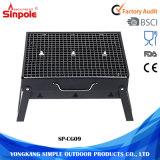 Складные миниые прямоугольные напольные решетки BBQ угля для сбывания