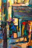 Impressionnisme Résumé Street Wall Art
