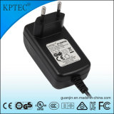 adaptador de la potencia de 12V/1.5A/18W AC/DC con la certificación del Ce y del estándar del GS