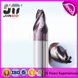 3flutes Solid Carbide Taper Cutter End Mill Altin Coating