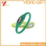 販売のための最も安くカスタマイズ可能なシリコーンのブレスレットの腕時計