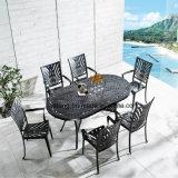Heißer Verkauf anodisierter Aluminiumim freienpatio-Möbel-Roheisen-Tisch