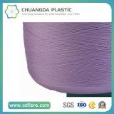 100% textil teñido 600d PP hilo de tejer / hilado FDY hilo