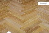 Herringbone настила партера дуба умножит проектированный деревянный настил/настил твёрдой древесины