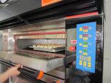피자를 위한 공장 가격 2 갑판 4 쟁반 호화스러운 전기 오븐