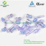 Connecteur libre de pointeau de vis de norme internationale pour des tubes