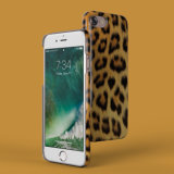 iPhone 7을%s 튼튼한 표범 패턴 케이스