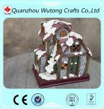 Huis van de Hars van de Decoratie van Kerstmis het Miniatuur Model