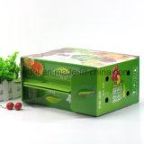 Продукты напечатанные таможней упаковывая коробку перевозкы груза плодоовощ коробки цвета Corrugated