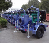 수평한 혼합 교류 펌프