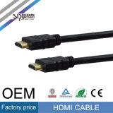 Кабель Sipu 1080P 3D 2.0V HDMI с кабелями компьютера локальных сетей