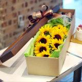 Caisse d'emballage de papier de fleur de caisse d'emballage de cadeau de qualité