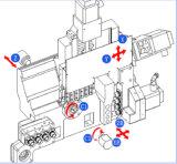 Тип швейцарца Lathe CNC Bsh325