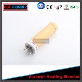 Elemento riscaldante tubolare di ceramica