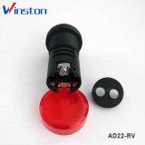 con la lampadina di segnalazione dell'indicatore luminoso di indicatore di Voltagemeter LED (AD22-RV)