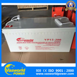 Ce&MSDS aprueba 5 años de batería solar regulada sin necesidad de mantenimiento 12V 200ah de la batería de plomo