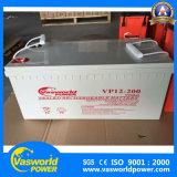 Zure Batterij van het Lood van de Kleur van de Batterij 12V200ah van de opslag de Navulbare Grijze voor het Gebruik van UPS wijd