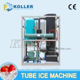 Fabricante del tubo del hielo con el hielo comestible 2000kg/Day del sistema del embalaje