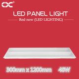 quadratisches Panel-Innenbeleuchtung der 48W 300X1200mm Deckenleuchte-LED