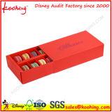Caixa de embalagem de dobramento colorida atrativa do produto comestível para Macarons
