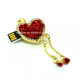 Lecteur flash USB de collier de Rose de carte mémoire Memory Stick de bijou