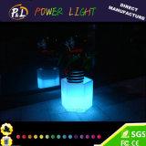 POT di fiore illuminato LED variopinto di plastica della mobilia di Hotel&Home