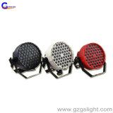 단계 가벼운 54PCS 1W LED 동위 RGBW 디스코 효력 장비 (P54-1)