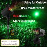 Efeito impermeável de Staray da luz da paisagem para a jarda, planta, árvore, laser ao ar livre
