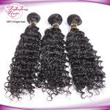 Weave profundo do cabelo humano da onda do cabelo malaio por atacado