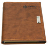 Impressão de couro do caderno da almofada de memorando dos artigos de papelaria do plutônio da venda quente
