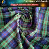 染まるヤーンのワイシャツファブリックポリエステルヤーンの染められたファブリック