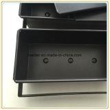 Олово здравицы покрытия тефлона профессионального изготовления Nonstick алюминиевое с крышкой