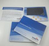 Folleto video modificado para requisitos particulares de la pantalla de la impresión 7inch LCD para hacer publicidad