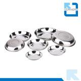 Accessoires de cuisine Acier inoxydable Mixing Bowl / Round Plate