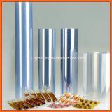 Film rigide en plastique transparent de PVC de qualité pour l'emballage transparent