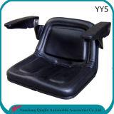 黒い芝刈機のトラクターのシートのトラクターの予備品(YY5)
