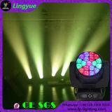 ビームディスコの蜂の目19X20W RGBW LEDのズームレンズ移動ヘッドDMX照明